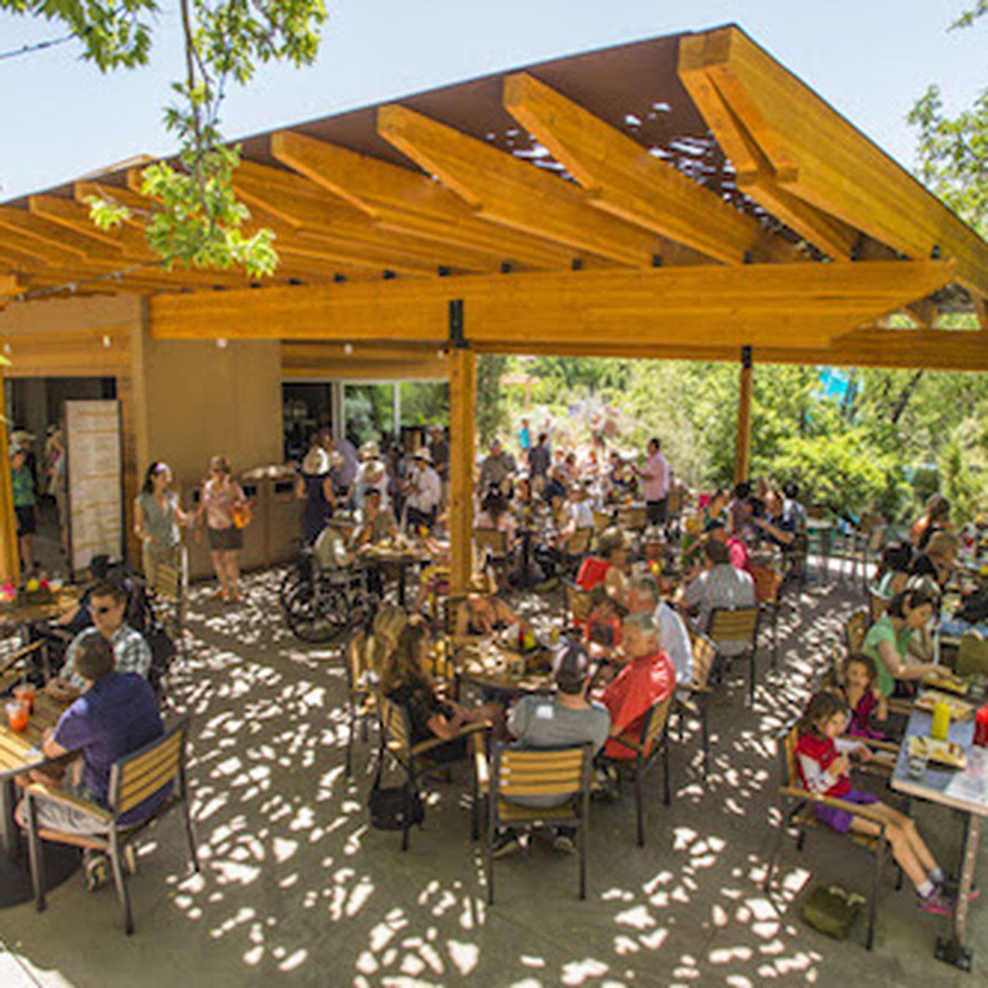 Denver Botanic Gardens Unveils The Hive Garden Bistro - Eater Denver
