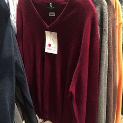 John Lang pullover, $93 (was $465)