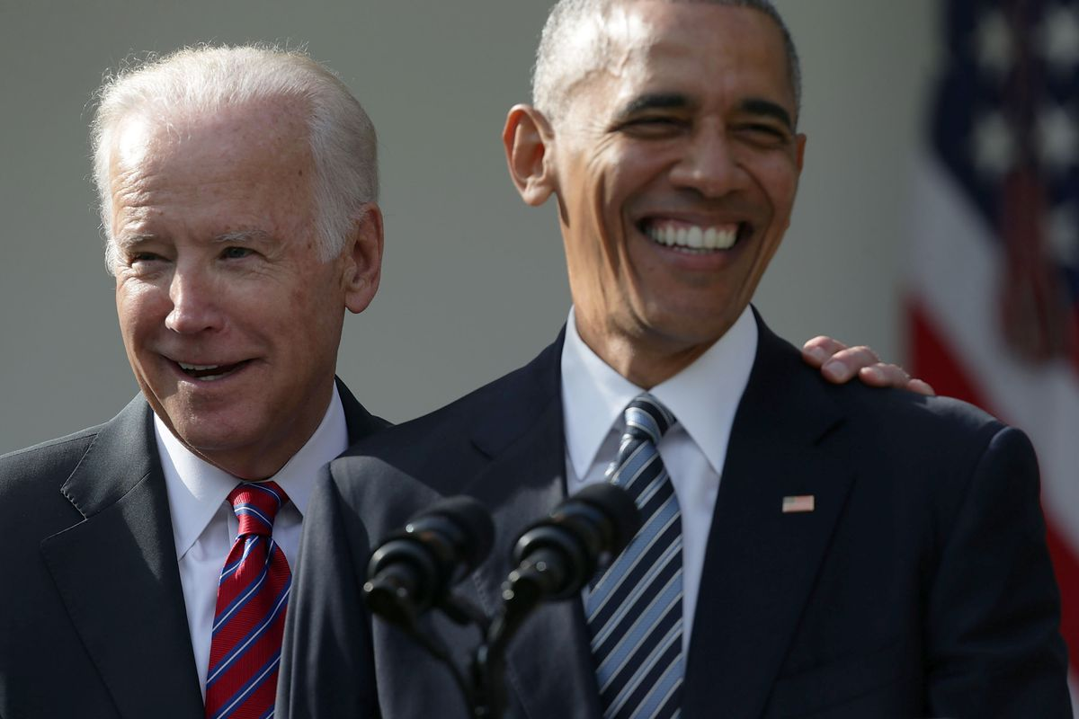 President Obama Makes At Statement At White House After Presidential Election