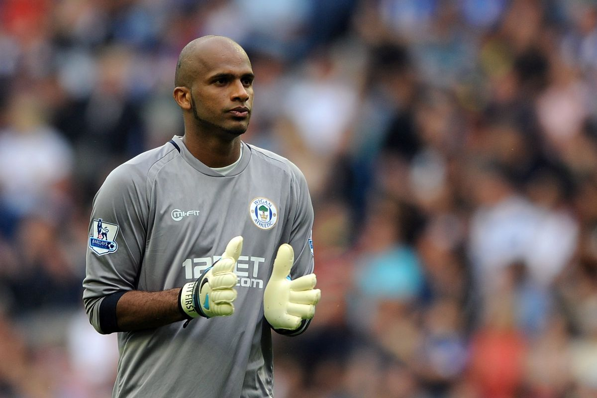 Tough day at the office for Al Habsi