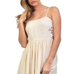 """Beige baby doll dress, <a href=""""http://shopblush.com/shop/clothes/BLB01844-beige-baby-doll-dress#.Uzzxja1dVi4"""">$74</a>"""