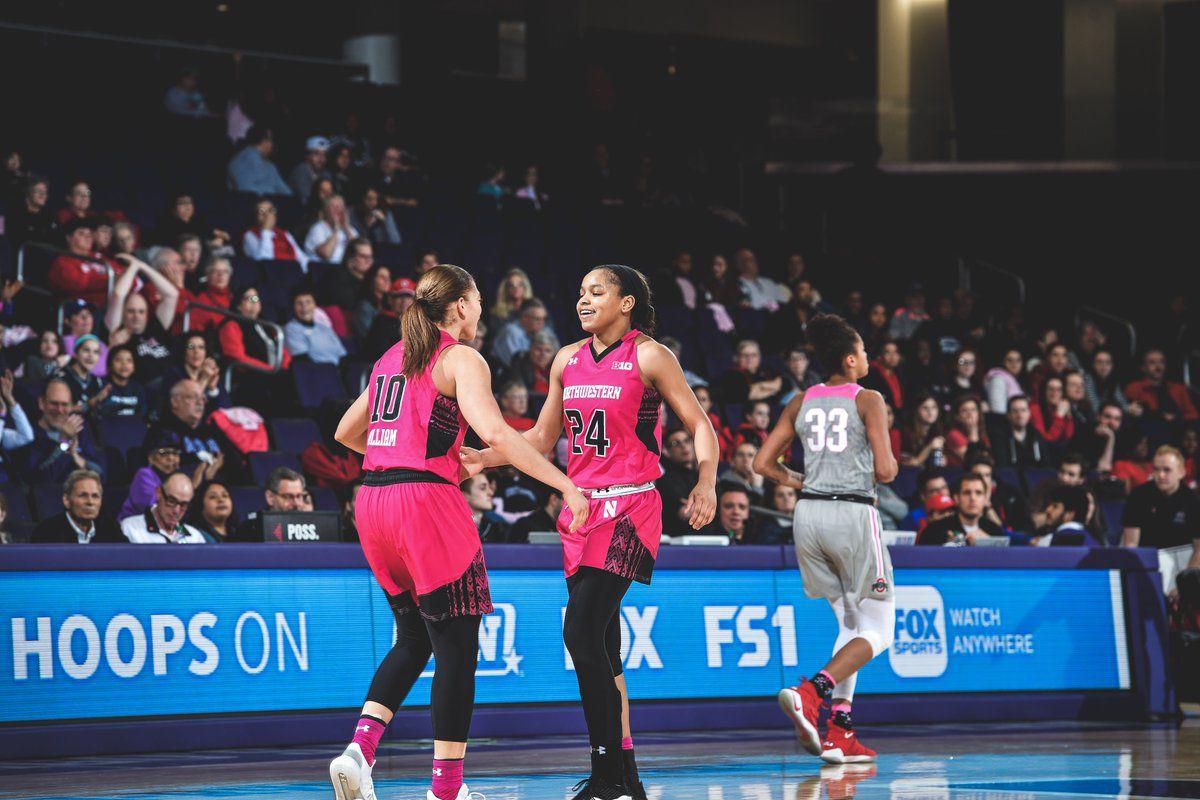 ada021709e87ac Women s basketball  Wildcats split pair of home matchups - Inside NU