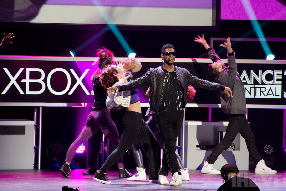 Usher at E3 / Microsoft Xbox 360