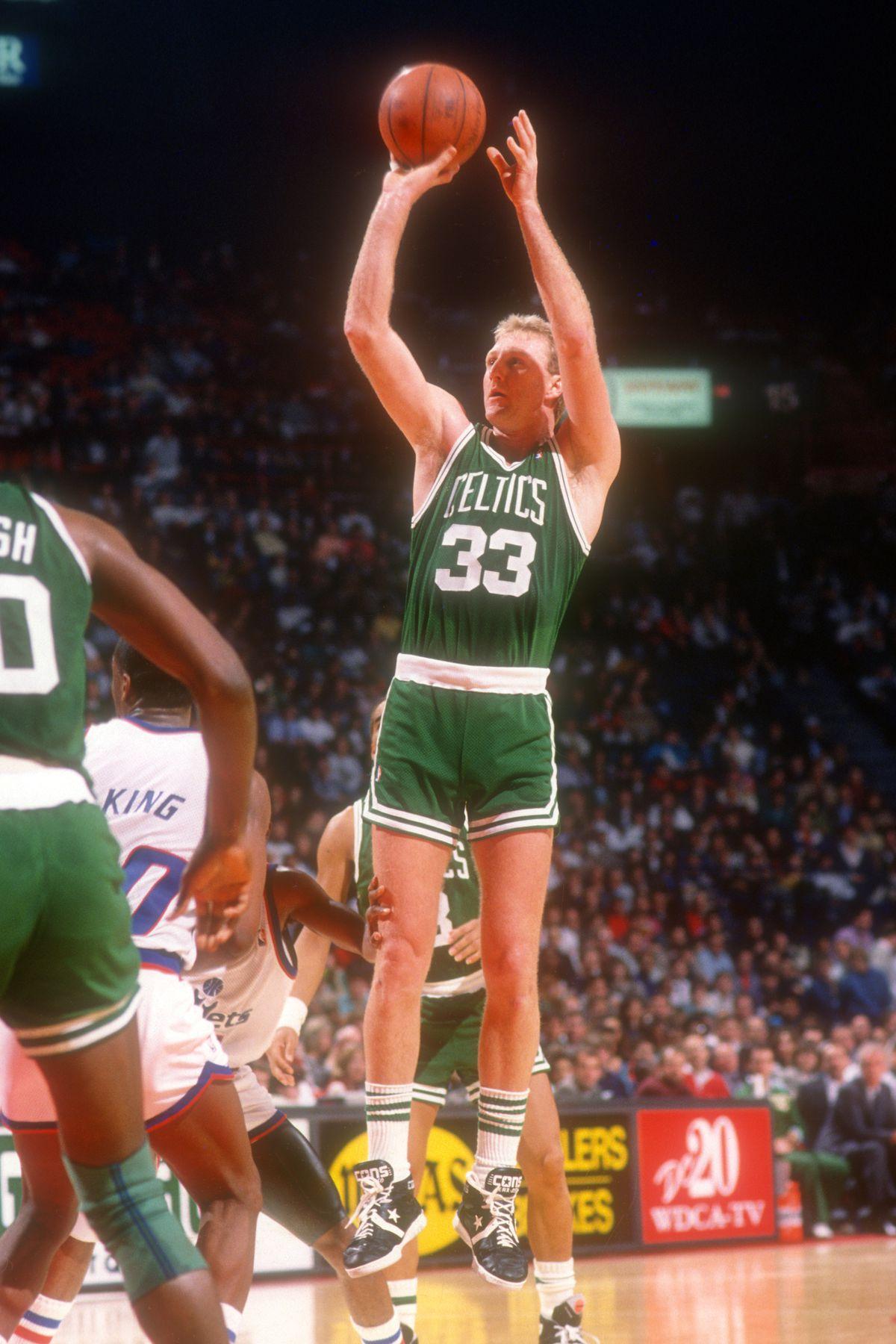Boston Celtics v Washington Bullets
