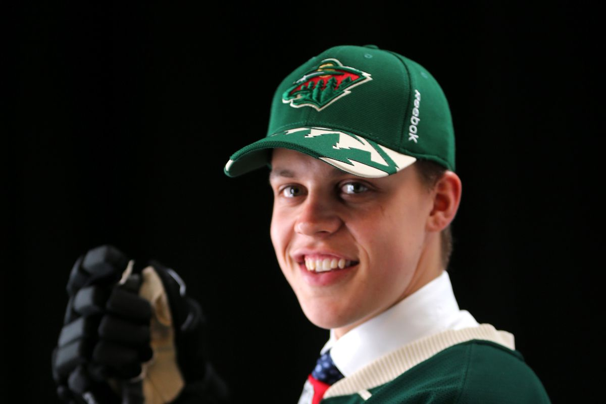 Don't let that smile fool you. Joel Eriksson Ek will bring it at the World Junior Championships.