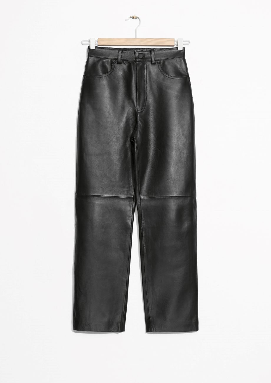 2ecf10f06d4461 Where Can I Find Leather (or Pleather!) Pants That Are Cheap But ...