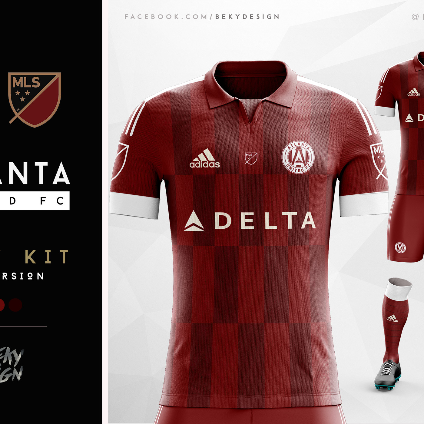 new styles 89a7d 37b1a The best Atlanta United kit designs from Design Football's ...