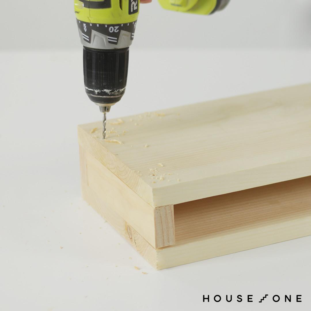 Building a floating shelf