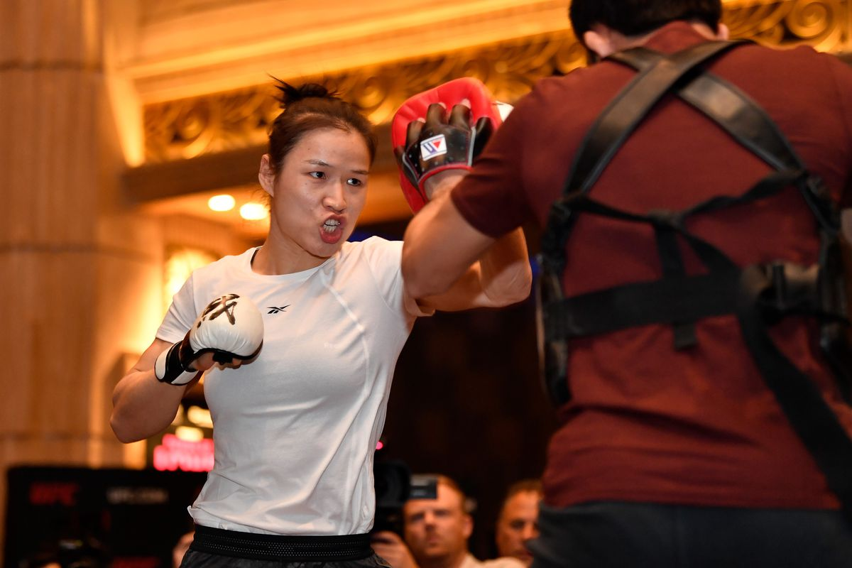 UFC 248: Open Workouts