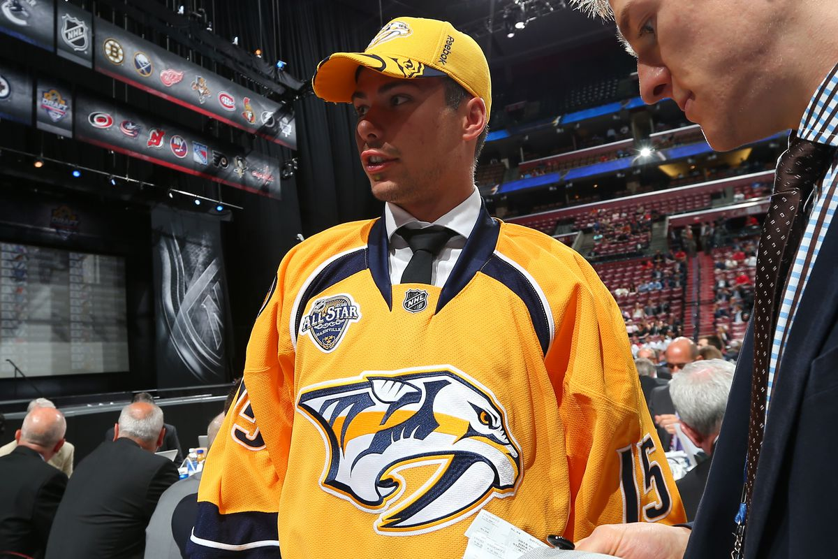 2015 Nashville Predators Draftee Alexandre Carrier will be in attendance at the Predators' development camp.