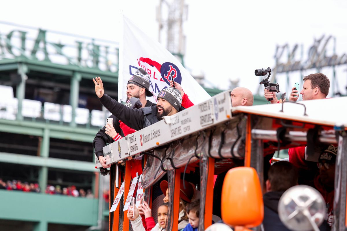 2202d5d2cef177 Boston Red Sox World Series parade 2018 live updates and highlights ...