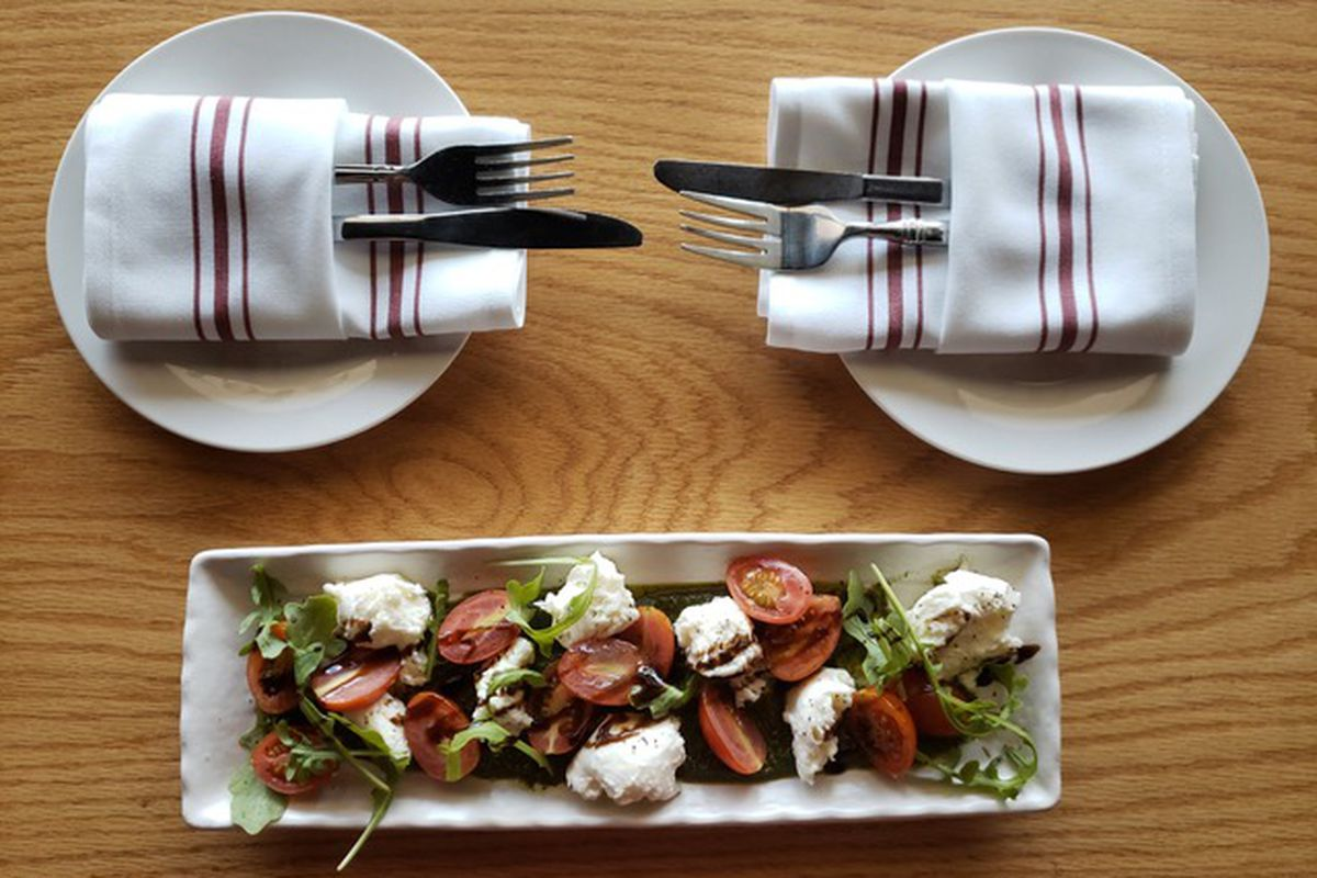 Caprese Salad At Bettola Bistro