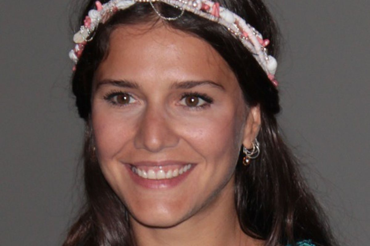 The bride, Margherita Missoni, a fortnight before her wedding, via Getty
