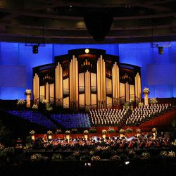 Golden Days, A Celebration of Life, in honor of President Thomas S. Monson's 85th birthday at the LDS Conference Center in Salt Lake City on Friday, Aug.  17, 2012.