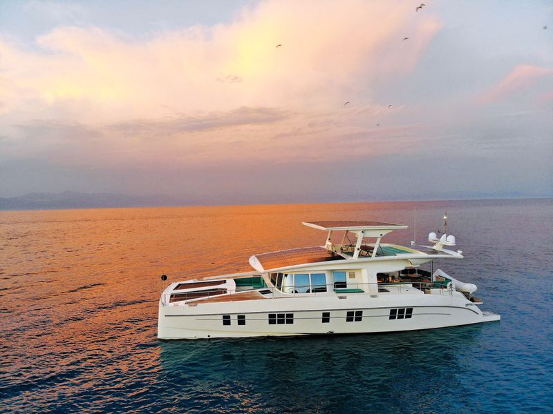FG_YACHT_Sunset_Port_CB18 What the superrich want for the holidays: mummies, jaguar fur, and rose-gold airplanes