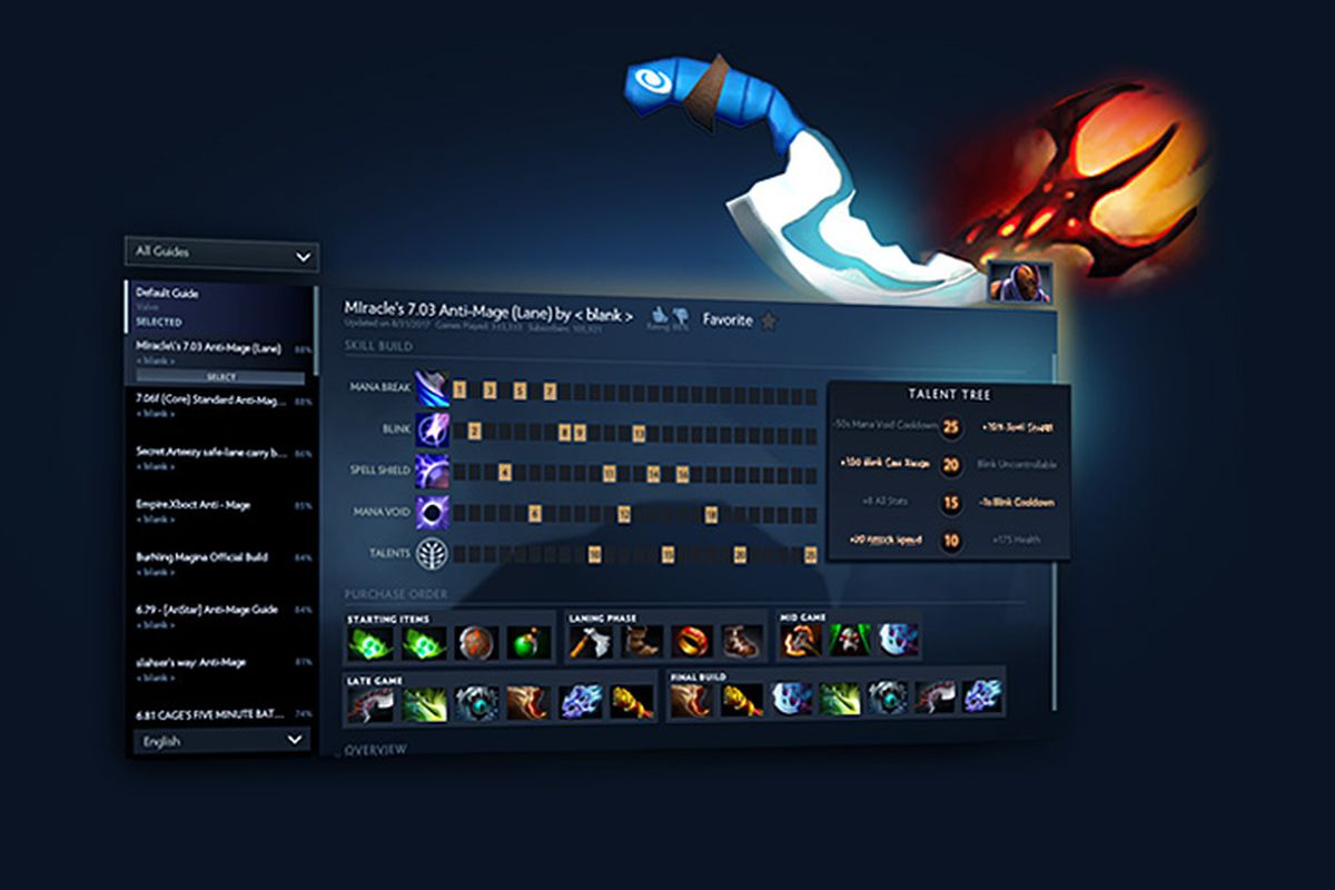 Overview of the biggest item changes in Dota 2's patch 7 07