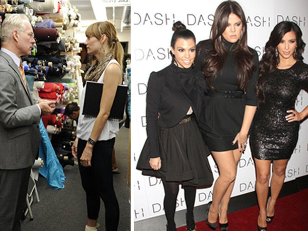 Project Runway at Mood via Lifetime Television/Barbara Nitke; the Kardashians via FlynetPictures.com