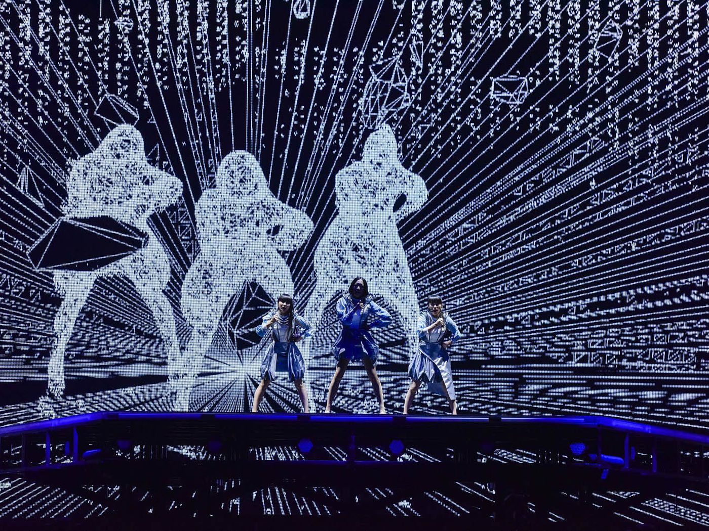 Behind The Scenes With Perfume Japan S Most Futuristic Pop Group