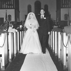 Golf legend Billy Casper married his wife, Shirley, a week after he turned 21.