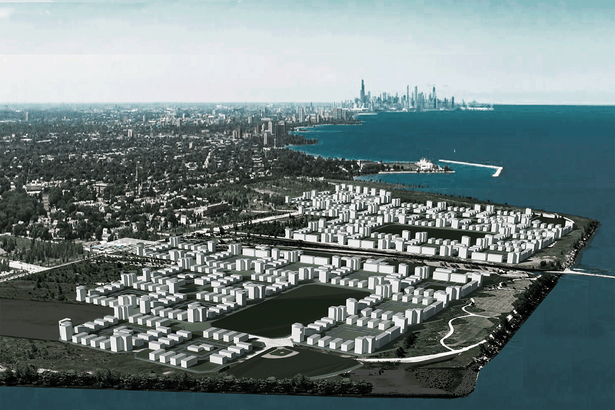 Developers Unveil A New Plan For Chicagos Longvacant US Steel - Us steel maps