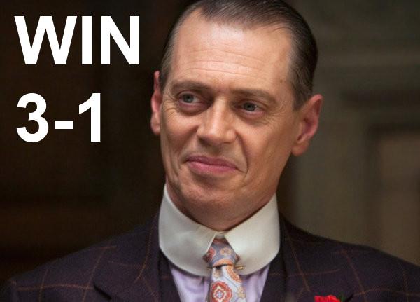 WIN, 3-1