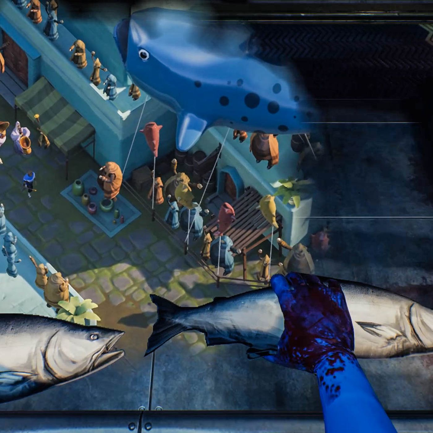 In What Remains Of Edith Finch Chopping Fish Heads Tells A