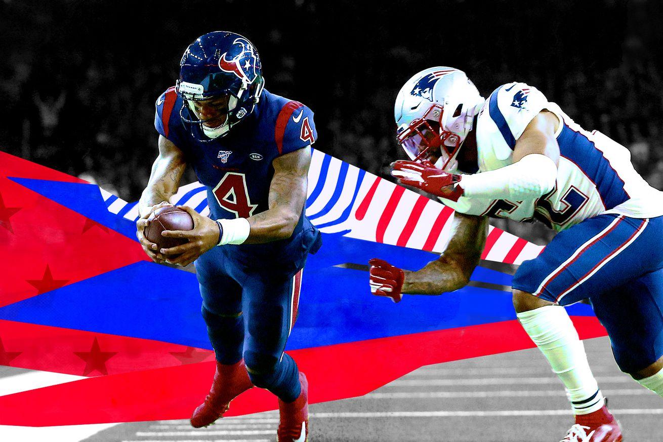 deshaun watson TD vs patriots.0 - The Texans finally showed the creativity that can make them dangerous