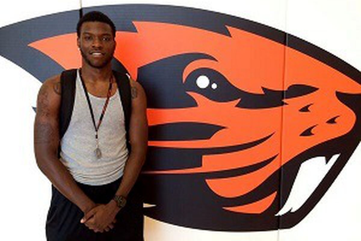 Oregon St. freshman Chai Baker reported to be in hospital with heart condition.