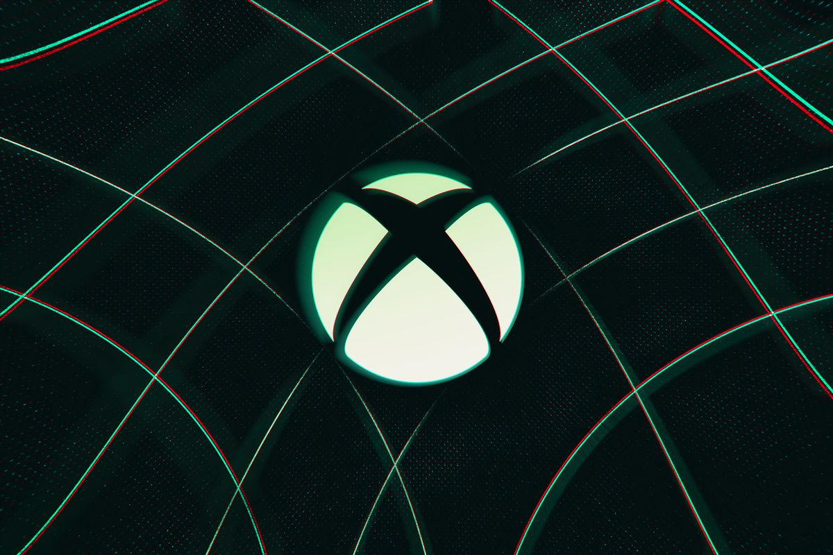 The Xbox logo (a white sphere with an X through it) against a dark green background.