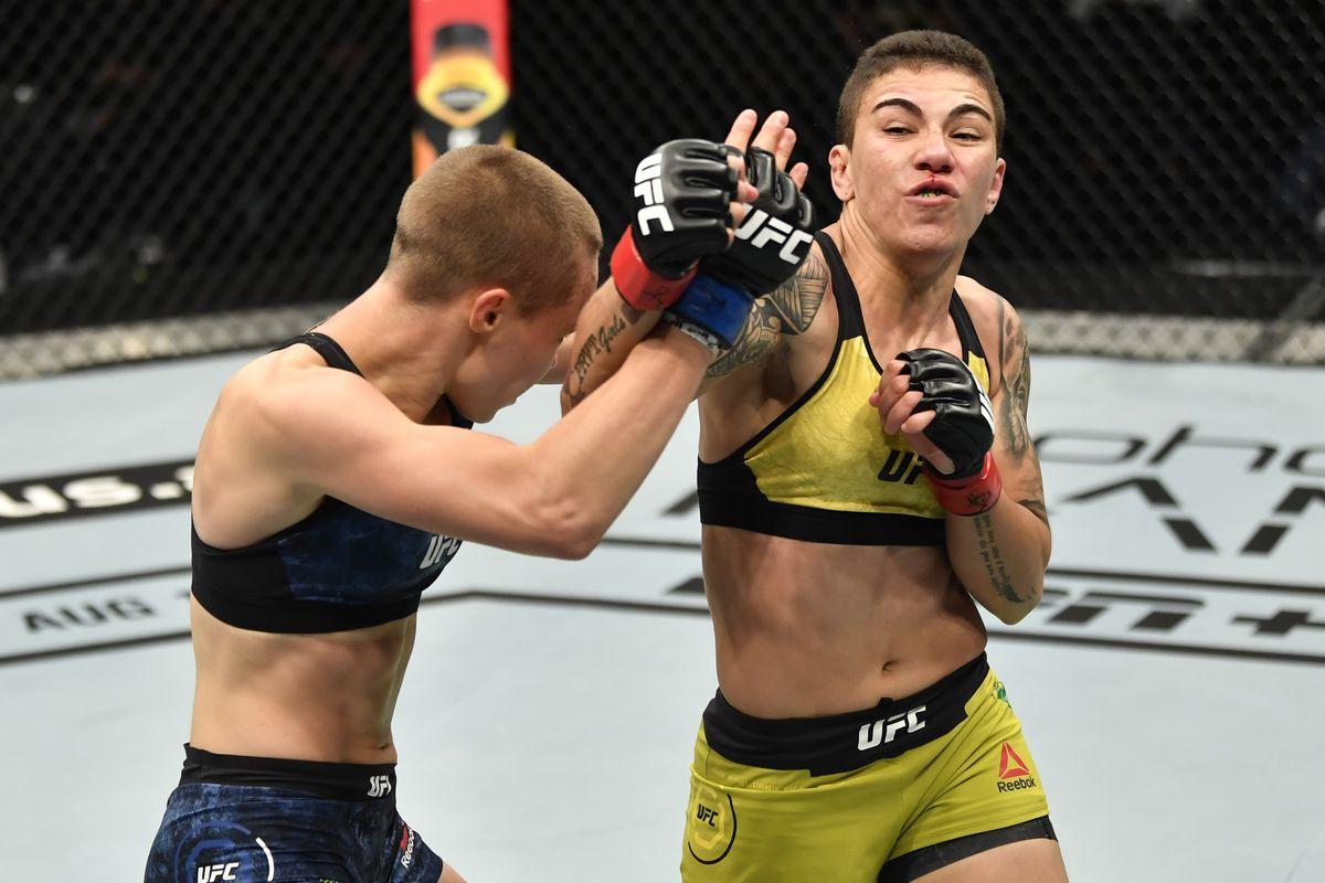 UFC 251: Andrade v Namajunas