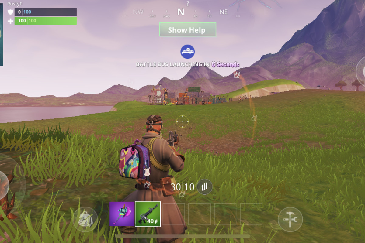 fortnite on ios just got a huge upgrade auto fire - fortnite pc aim assist with mouse