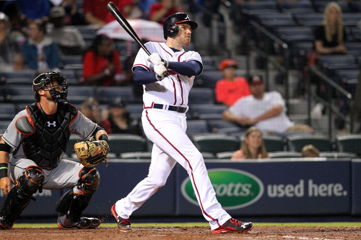 Freddie Freeman has destroyed the Nats in his career, batting .323/.376/.500 against them.