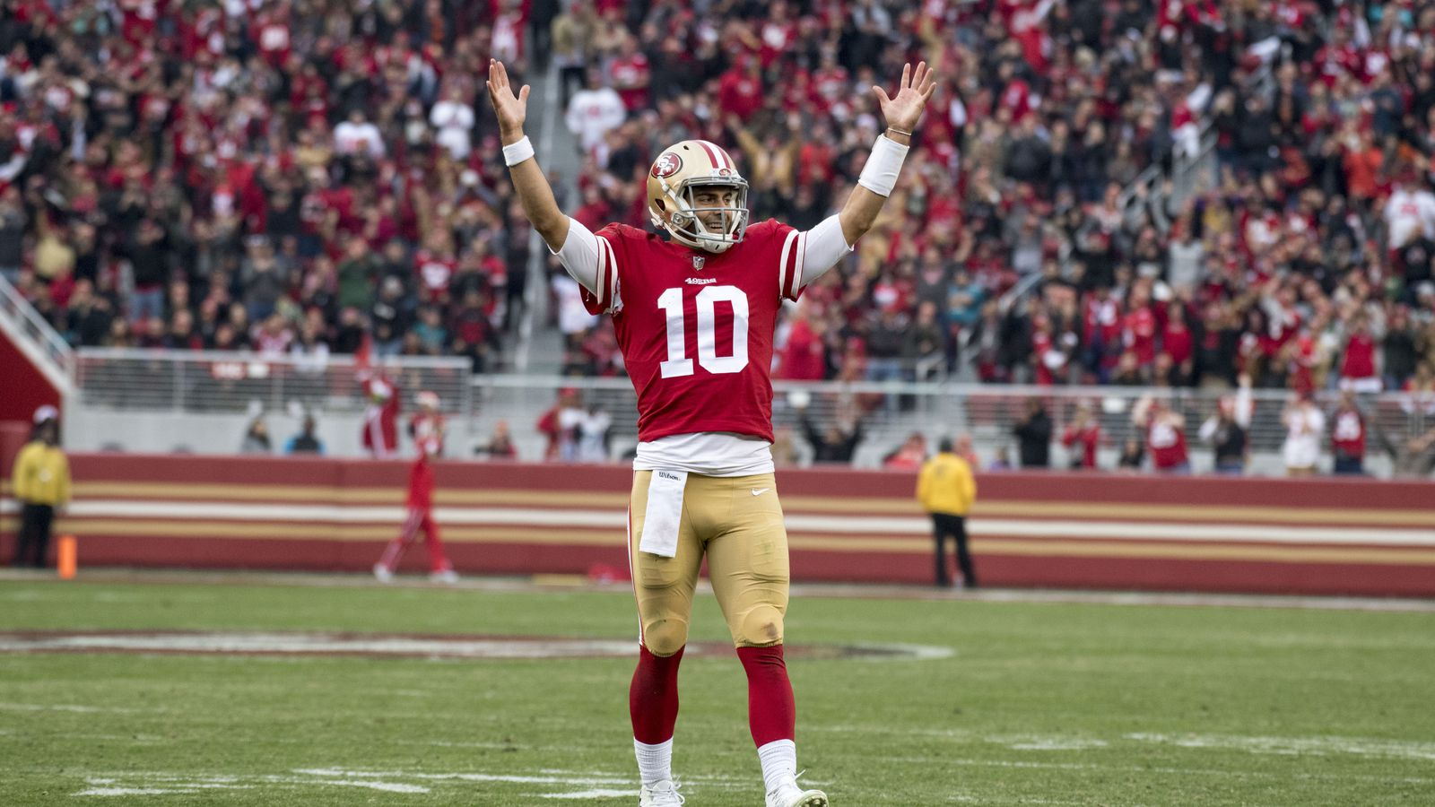 Jimmy Garoppolos Record Breaking Extension Could Prove A Bargain Soon Niners Nation