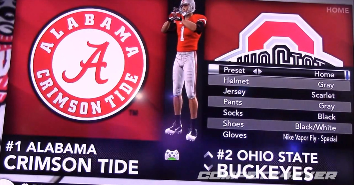 New uniforms for Ohio State in 2013? Not according to NCAA Football 14 - Land-Grant ...