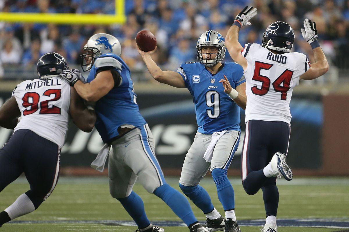 Texans vs. Lions, Week 12: Lions bloggers react to frustrating OT loss -  SBNation.com