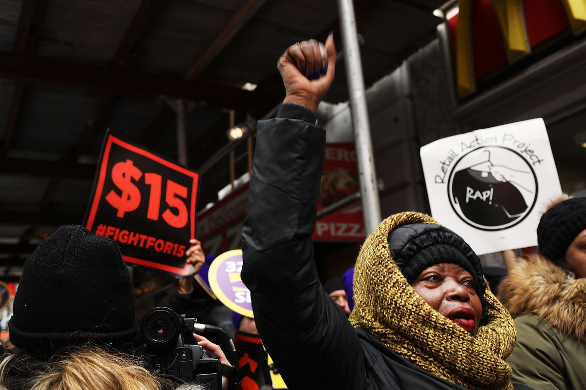 Fast Food Workers Join Nationwide Protests Against Puzder Nomination