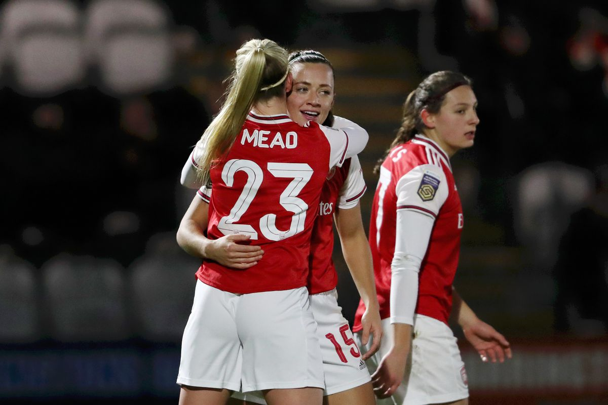 Arsenal Women v London Bees - FA Women's Continental League Cup