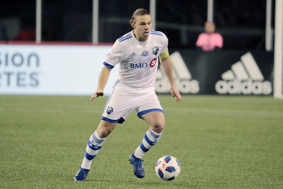 SOCCER: APR 06 MLS - Montreal Impact at New England Revolution