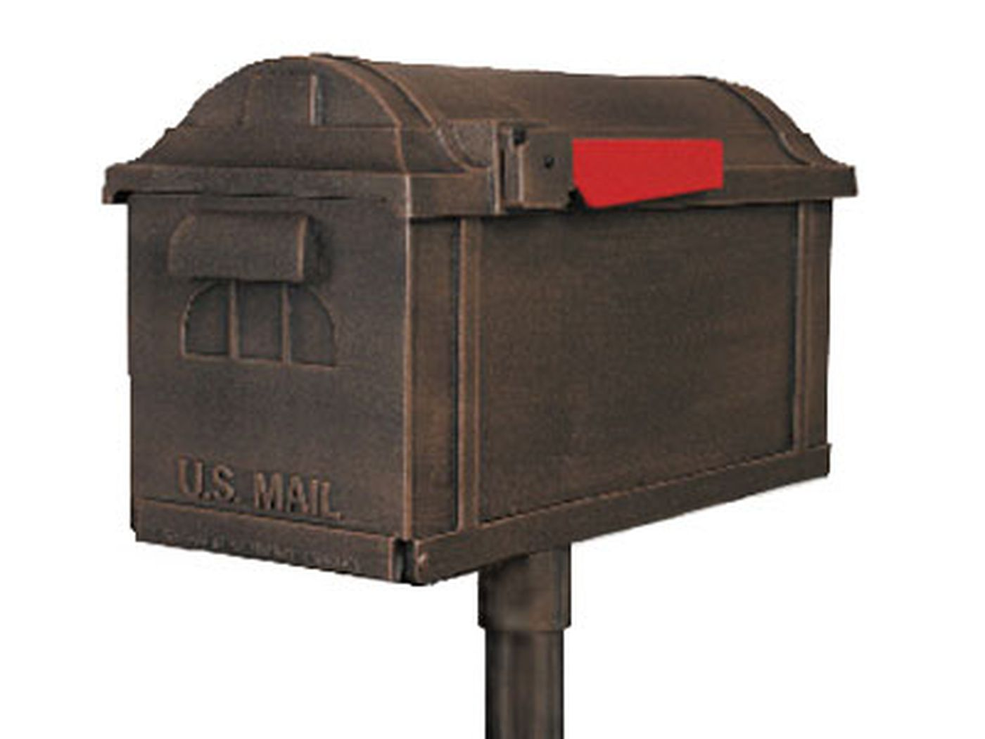 Post Mount Mailboxes This Old House