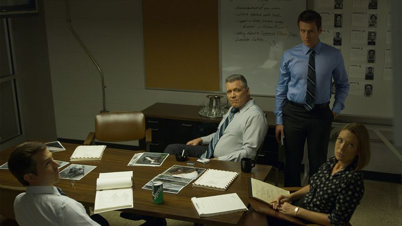 The cast of Mindhunter