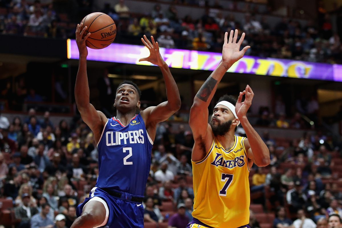 b1a1bd78a4a7 Lakers struggle to score without LeBron James in 103-87 blowout loss to  Clippers