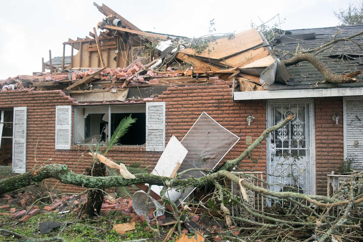 Tornado In New Orleans East The Aftermath Curbed New Orleans