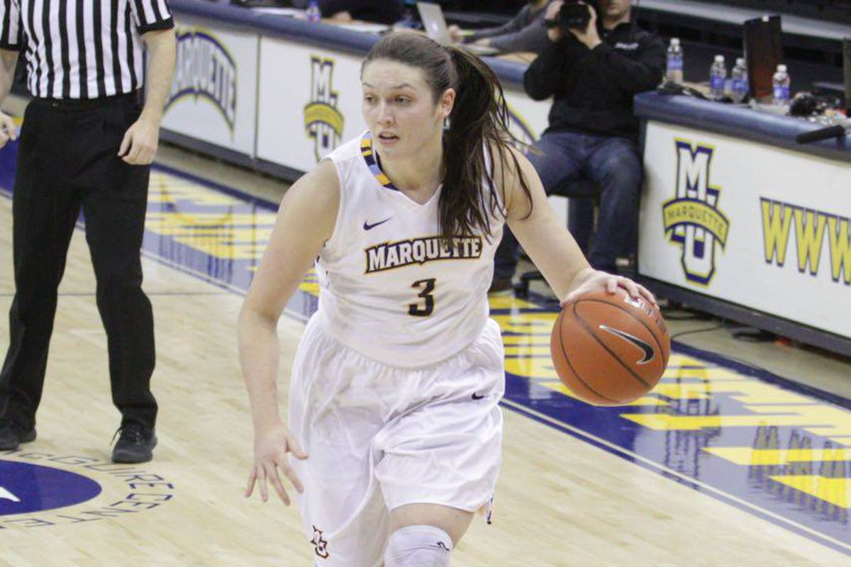 McKayla Yentz went NUTS from long range in the second half against Georgetown
