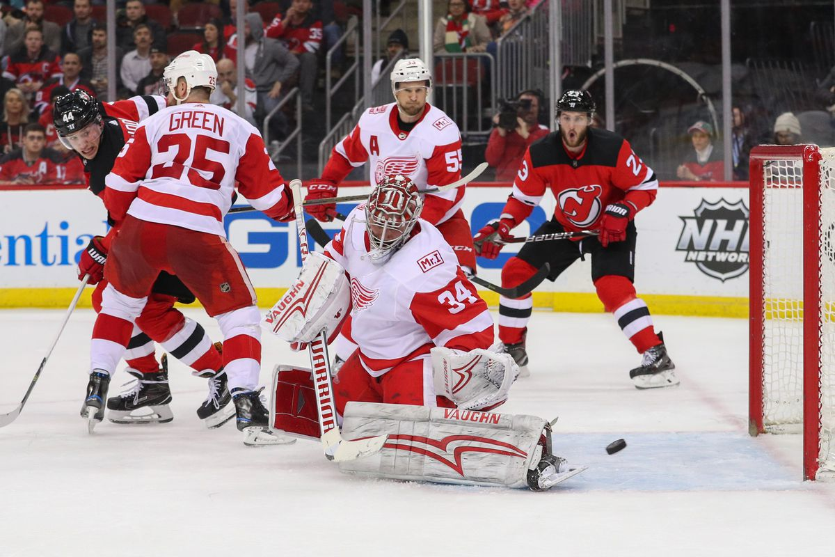 Hall-Less New Jersey Devils Went Goal-Less in Shutout Loss to Detroit Red  Wings 2523814adeb