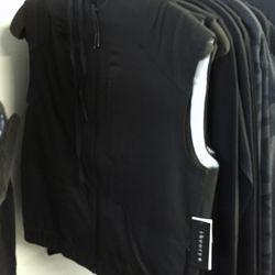 Theory + zip vest, $109 (was $225)