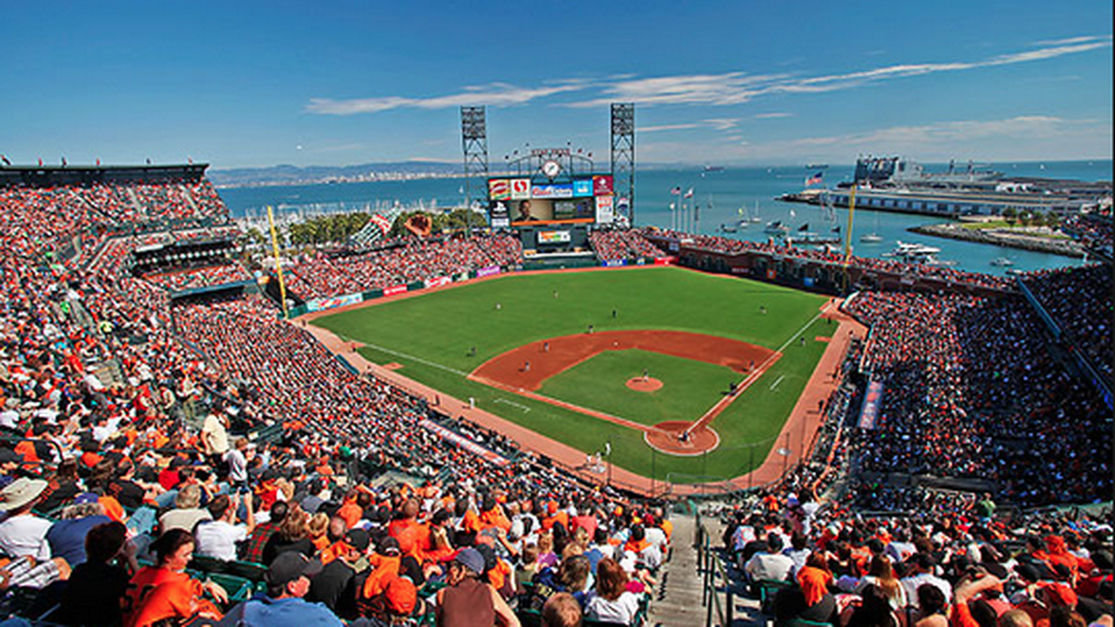 San Francisco Giants Stadium Wallpaper: What To Eat At AT&T Park, Home Of The Giants