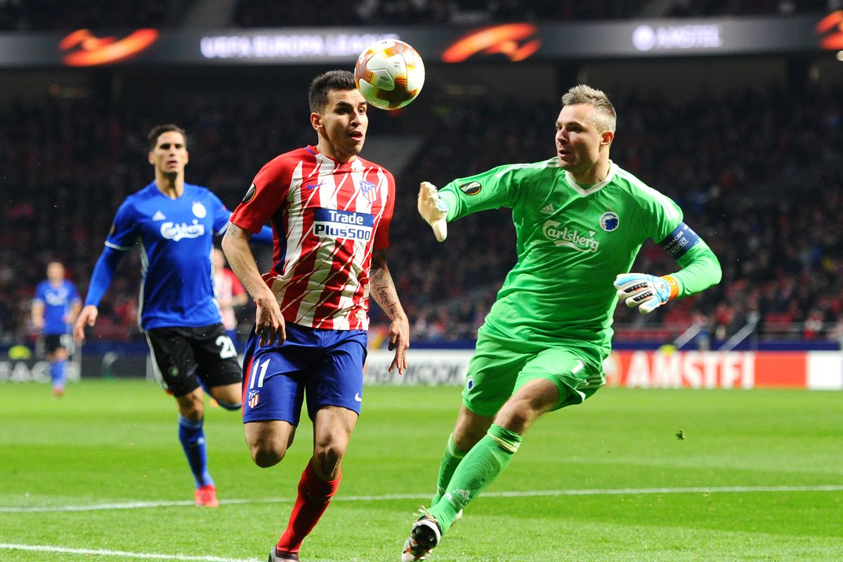 Atletico Madrid v FC Copenhagen - UEFA Europa League