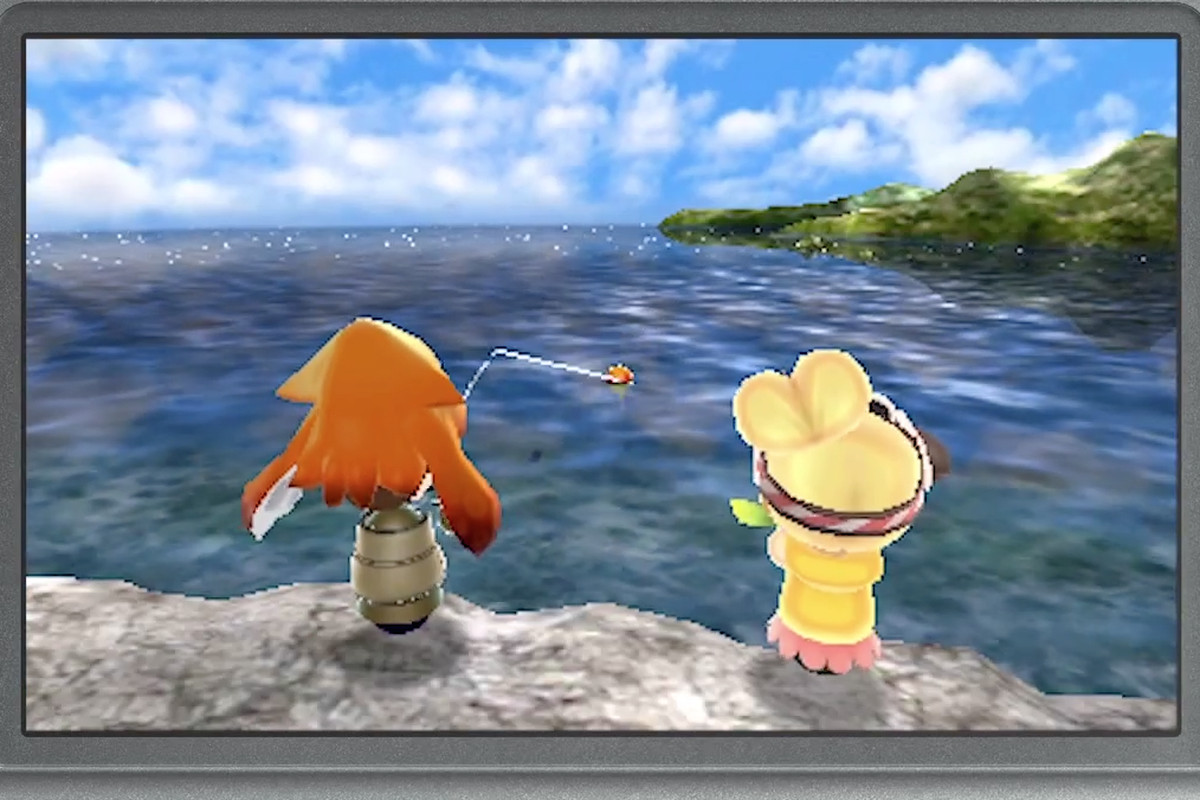Fishing Zombies And A Premium Area Are Heading To The 3ds Mii Plaza