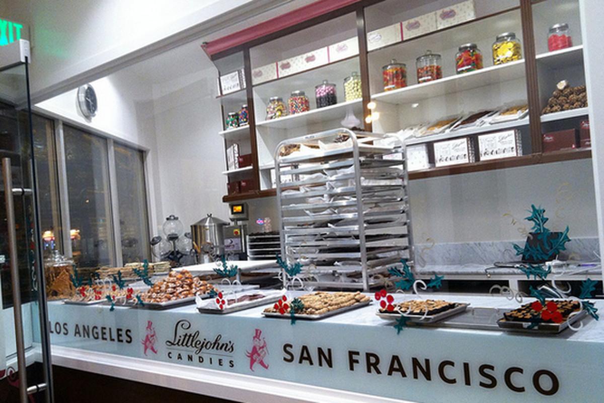 Littlejohn's new candy shop in San Francisco.
