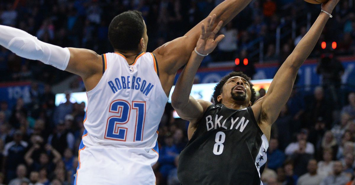 Andre Roberson sees lots of familiar faces on arrival in Brooklyn - NetsDaily